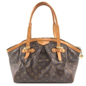 Tivoli Tote Brown Monogram Canvas Satchel